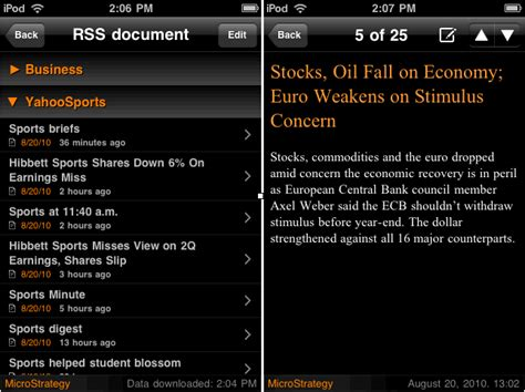 mobile rss feeds displaying rss feeds rss reader widget