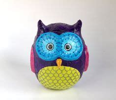 How To Make A Paper Mache Owl - 1000 images about s paper mache project on