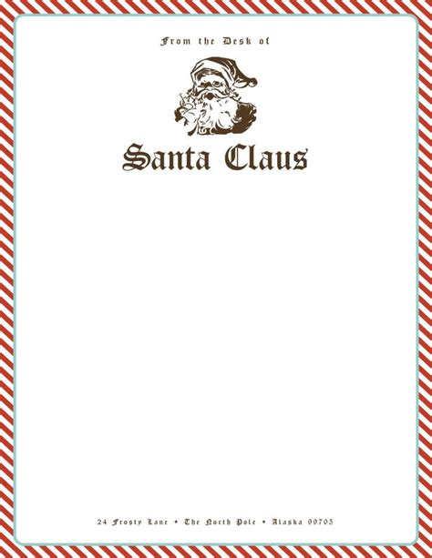 santa letterhead template zoey designed toms river nj wedding invitation