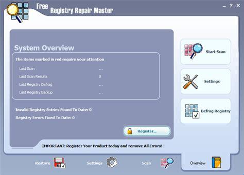 best free registry repair registry repair free version