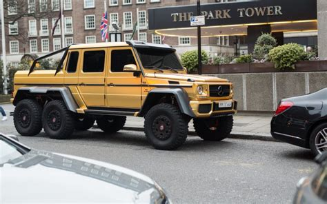 jeep mercedes gold gold plated mercedes bentley and lamborghini flown to