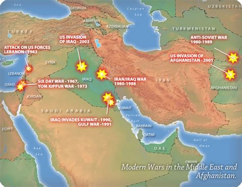 middle east map conflict npr