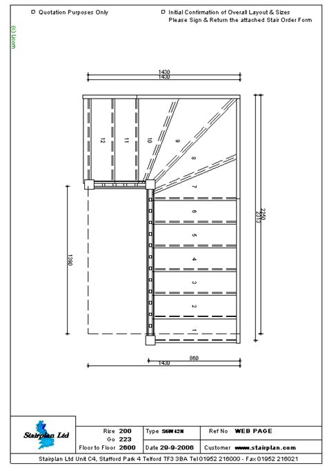 stair plan image gallery staircase layout
