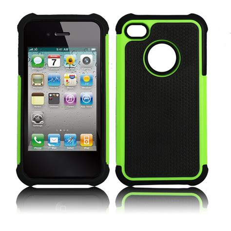 Iphone 4s Rugged by For Iphone 4 4s Black Rugged Rubber Matte