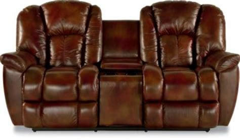 la z boy maverick leather recliner la z boy maverick leather power recline loveseat w console