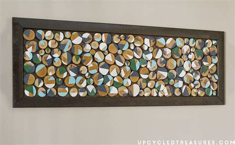 diy home decor how to make placemats and other easy how to make wood slice art from branches
