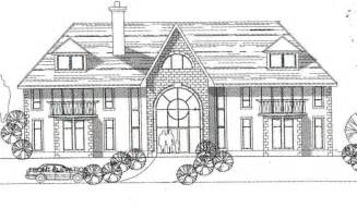 Home Design Drawing by How To Draw Big House