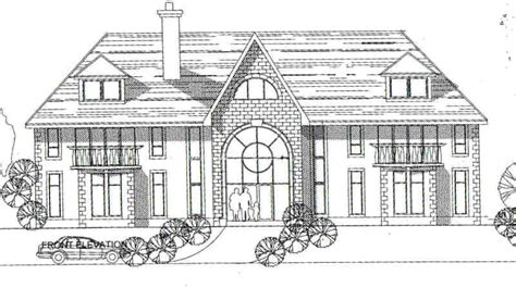 draw big house home plans blueprints 24431