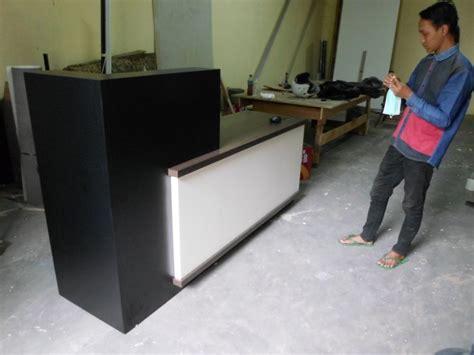 Meja Cs Meja Cs Front Desk Meja Kasir Furniture Semarang