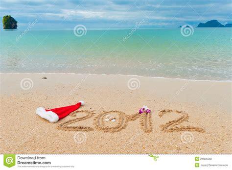 imagenes de navidad y vacaciones fondo de las vacaciones de la playa de la navidad foto de