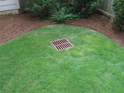 Catch Basin In Backyard by Backyard Drainage Into Catch Basin 187 Backyard And Yard