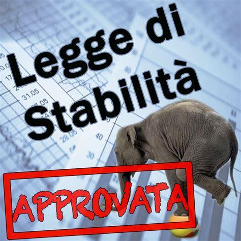 legge di stabilità testo legge di stabilit 224 2015 232 definitiva le misure e il testo