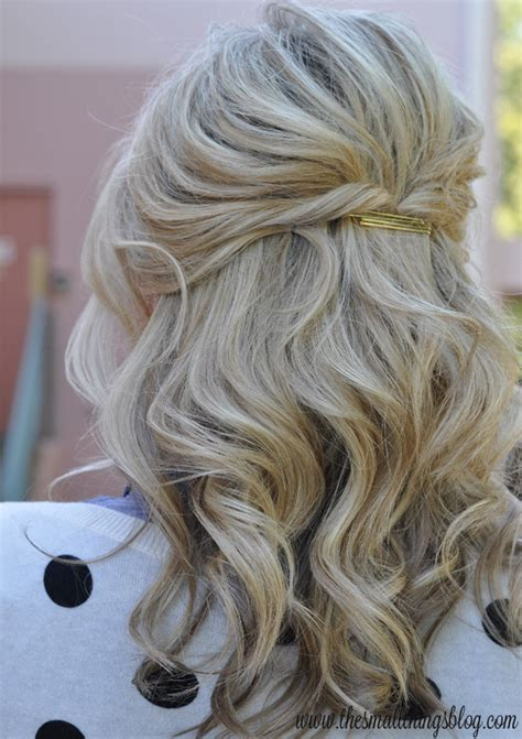 Casual Half Up Half Hairstyles by Hair Half Up Tutorial Archives Home And Diy