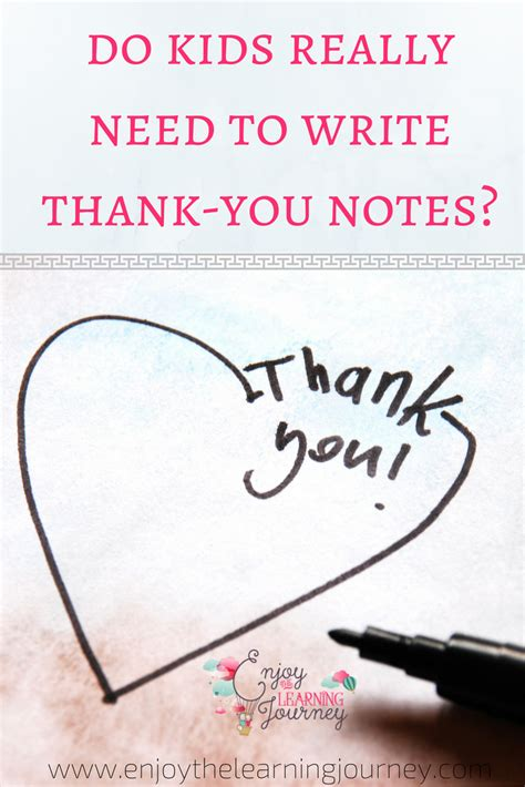 Do I Need To Write A Thank You Letter After A Phone Do Really Need To Write Thank You Notes Enjoy The
