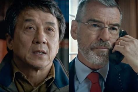 a look at pierce brosnan in the foreigner manlymovie watch jackie chan and pierce brosnan star in trailer