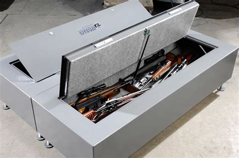 under bed rifle safe prissy home under bed prevnext glock parts along with