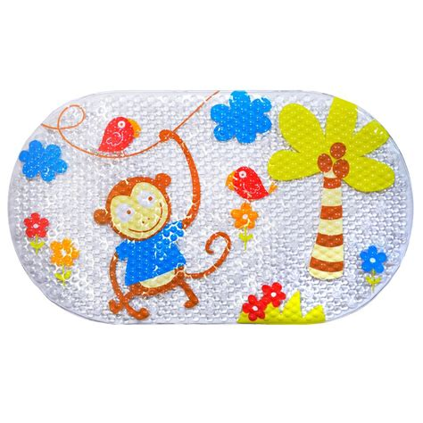 kids bathtub mats kids pvc non slip bath mat bathtub monkey mat child kid