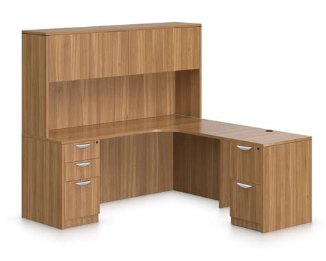 Offices To Go 71 Quot L Shaped Computer Desk With Hutch L Shaped Desk Hutch