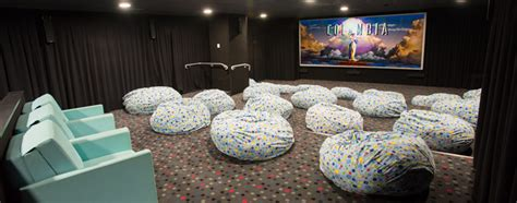 Theater Bean Bags Guide To The Rch Hoyts Beanbag Cinema