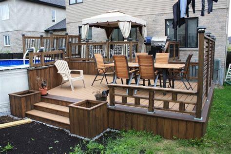 Composite Vs Wood Decking by Composite Decking Vs Deck Modern With Vinyl Decks Backyard
