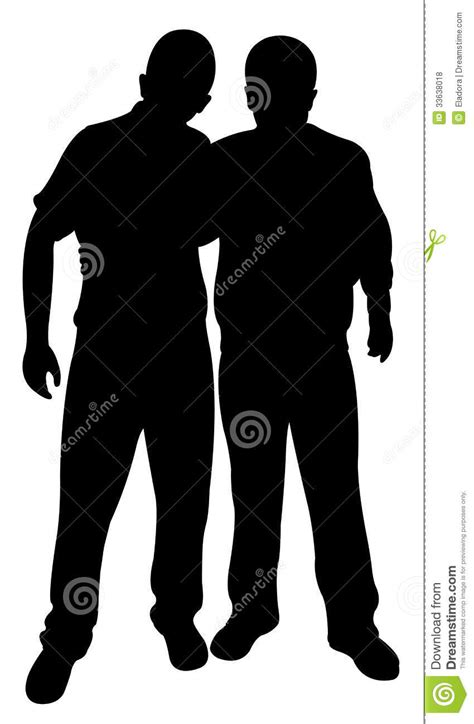 vetor de dois cavaleiros imagens de stock royalty free vetor da silhueta de dois amigos fotos de stock royalty