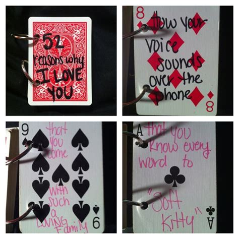 52 reasons i you book make with a deck of cards