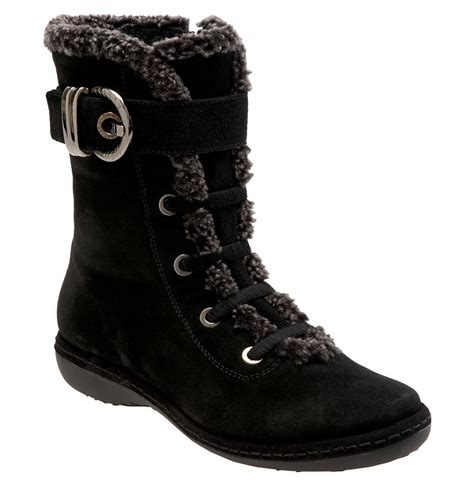 Stuart Weitzman Black Sport Studded Conan Boot by Lyst Stuart Weitzman Forest Shearling And Suede Ankle