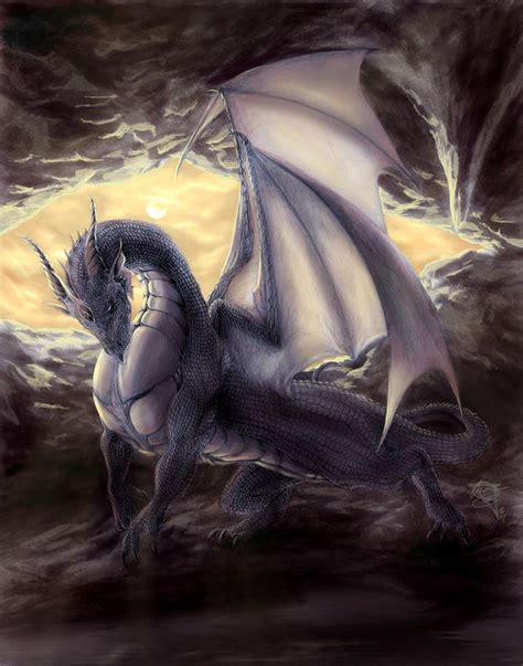 black dragon cave cave dragon by rob carlos