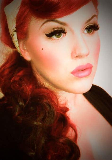 Swing Makeup rockabilly makeup rockabilly hairstyles