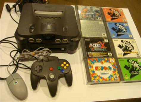 cheap nintendo 64 console retro treasures nintendo 64dd n64 with
