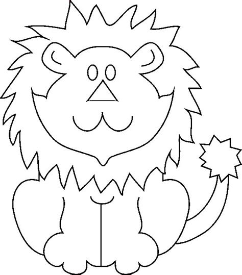 coloring page lion face lion coloring pages