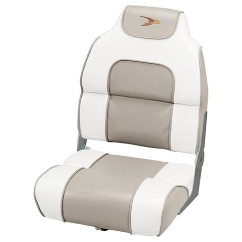 wise deluxe boat seats wise 174 premium deluxe hi back fishing boat seat 140371