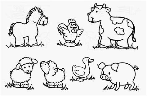 imagenes de animales juntos para colorear recursos para educaci 243 n inicial dibujos de animales para