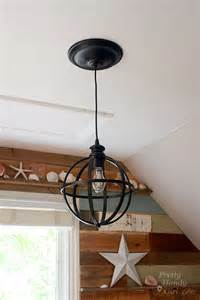 How To Convert A Recessed Light To A Pendant Light 5 Minute Light Upgrade Converting A Recessed Light To A Pendant Pretty Handy