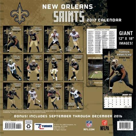New Orleans Calendar New Orleans Saints Wall Calendar 9781469339740