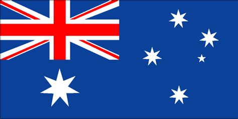 flags of the world with stars australia flag and description