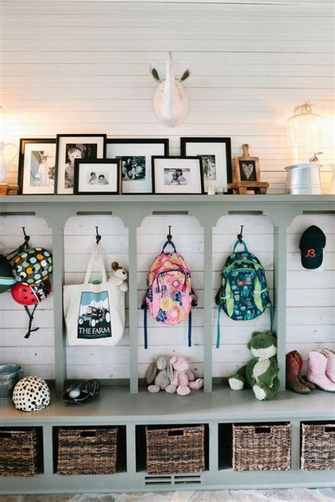 mudroom organization 35 clever exles to organize your entryway easily digsdigs