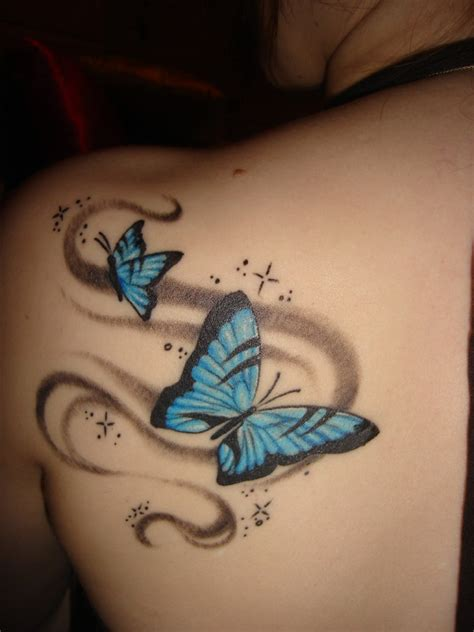 butterfly tattoo on girl s shoulder butterfly tattoo image for girls shoulder sheplanet