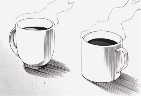 Interesting Coffee Mugs an interesting coffee cup sketch drawing cups