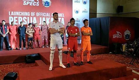 Jersey Piala Presiden jersey persija laku keras usai juara piala presiden