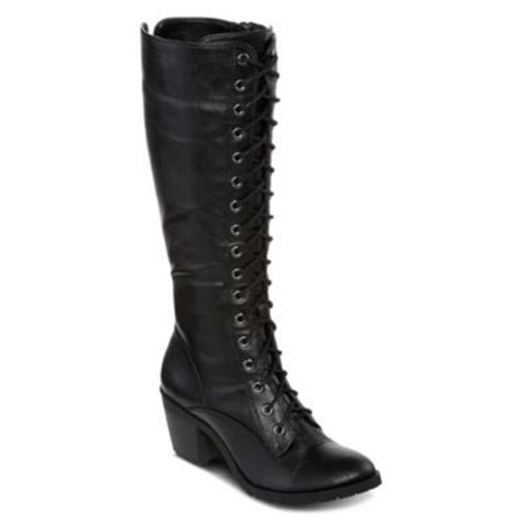 jcpenney arizona lolly womens lace up boots