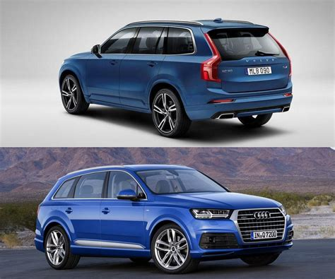 volvo audi two upcoming performance suvs volvo xc90 polestar audi