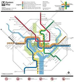 Dc Metro System Map by Washington Dc Metro System Maplets