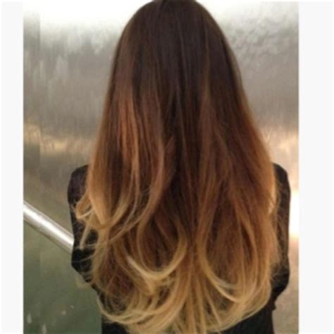 how to blend hair color a good ombre hair color blend hair pinterest
