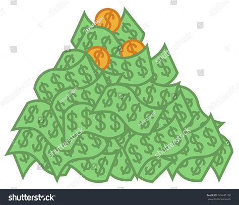 Win Lots Of Money Free - cartoon vector illustration big pile money stock vector 145245190 shutterstock