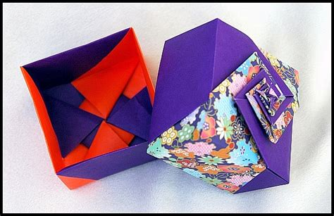 Origami Spiral Box - origami gallery 2012