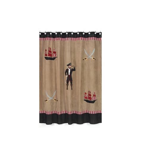 pirate shower curtains sweet jojo designs pirate treasure cove shower curtain