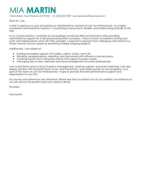 Exle Request Letter For New Computer In Office 8 Best Admin Assist Cover Letter Images On Cover Letter For Cover Letter