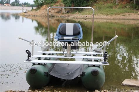 inflatable one man pontoon boats one person inflatable pontoon fishing boats buy one