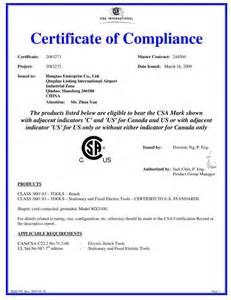 certificate of compliance template zmpczm016000 13 03